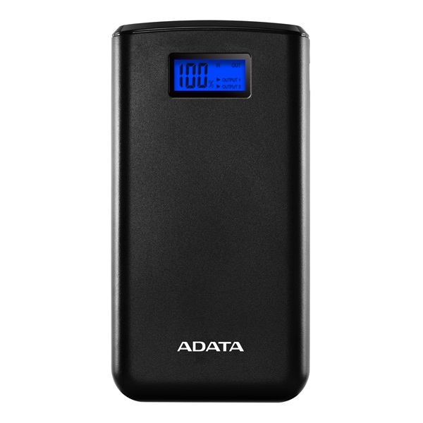 ADATA Power Bank 20000mAh AS20000 Fekete (AS20000D-DGT-CBK)