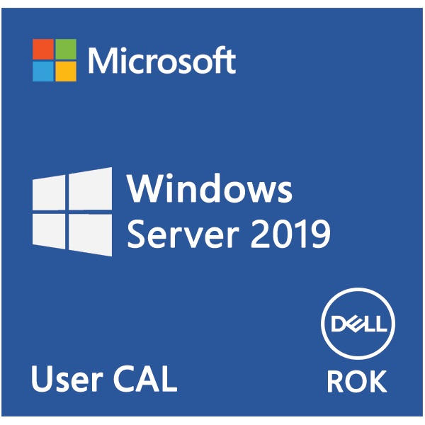 DELL EMC szerver CAL - MS Windows Server 2019, 5 User CAL, ROK, English. (623-BBDB)