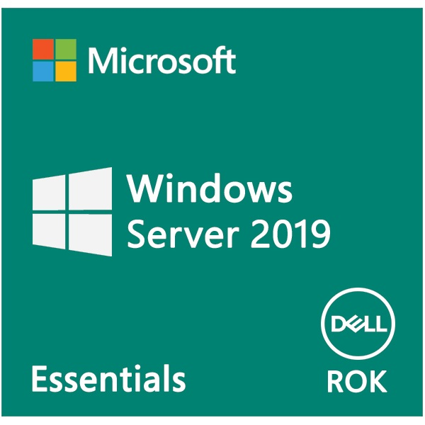 DELL EMC szerver OS - MS Windows Server 2019 Essentials Edition, 64bit ROK - English (WEOS). (634-BSFZ)