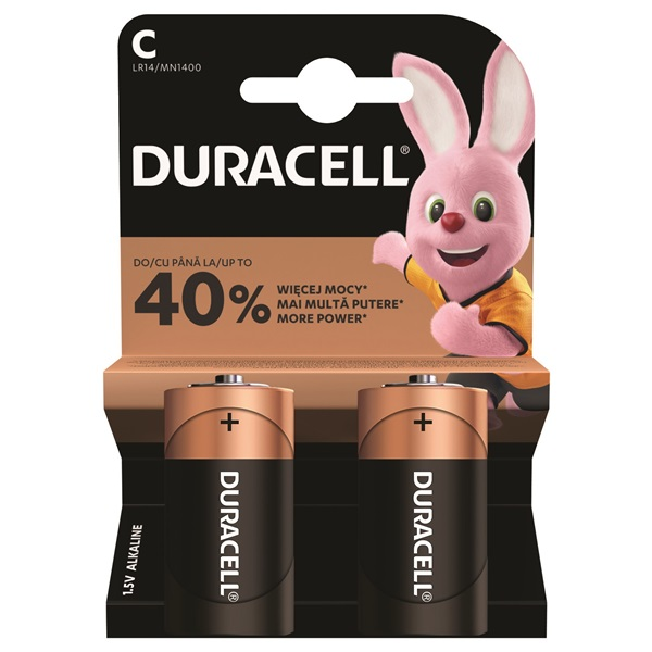 Duracell BSC 2db C (baby) (4084500286979)