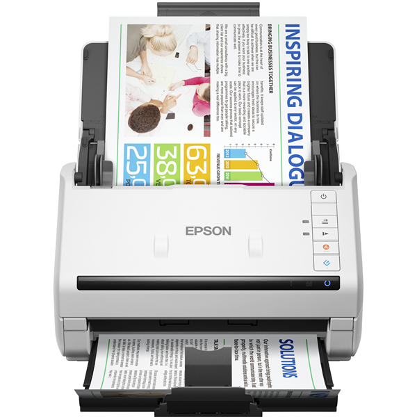 EPSON Docuscanner - WorkForce DS-530II (A4, 600 DPI, 35 lap/perc, USB, ADF, duplex) (B11B261401)