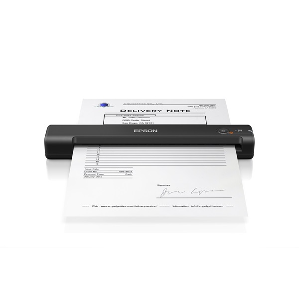 EPSON Docuscanner - WorkForce ES-50 (A4, 600 DPI, 5.5 lap/perc, USB) (B11B252401)
