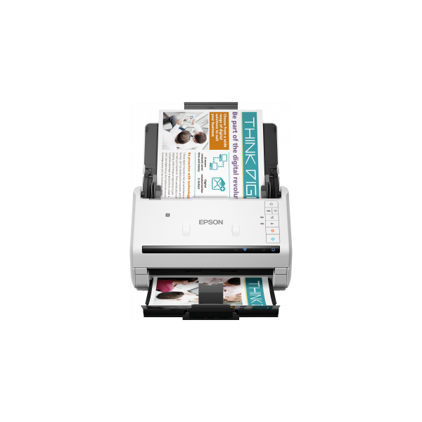 EPSON Docuscanner - WorkForce DS-570W (A4, 600 DPI, 35 lap/perc, USB/Wifi, ADF, duplex) (B11B228401)