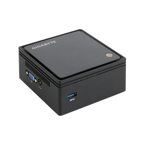 "GIGABYTE PC BRIX Ultra Compact, Intel Celeron N2807 2.16 GHz, HDMI, DSUB, LAN, WIFI, Bluetooth, 2,5"" HDD hely, USB 3.0 (GB-BXBT-2807)"