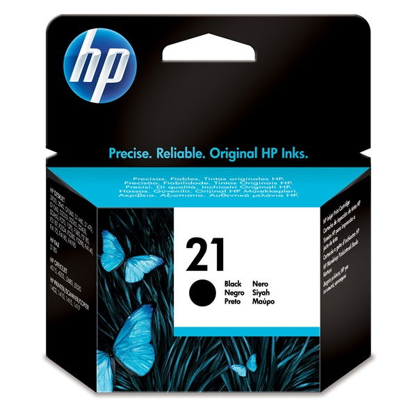 HP Patron No21 fekete DJ3920/3940, PSC1410 5ML (C9351AE)