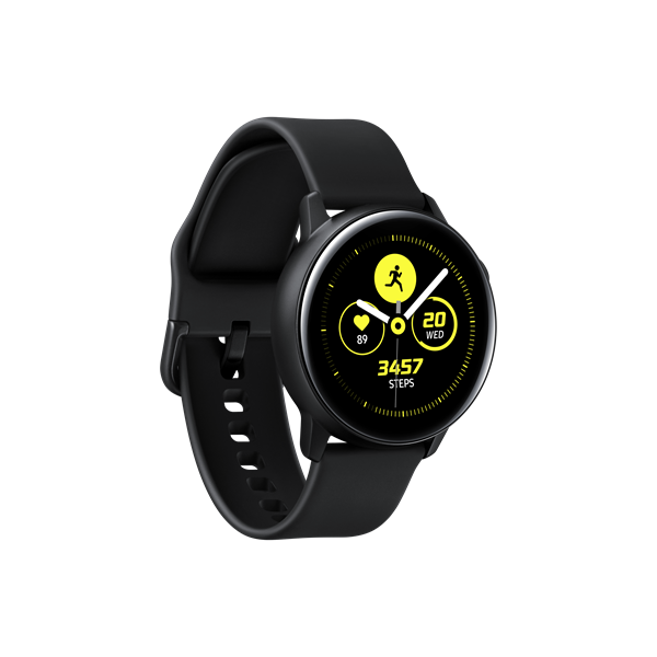 Samsung Galaxy Watch Active - SM-R500NZKAXEH, Fekete (SM-R500NZKAXEH)