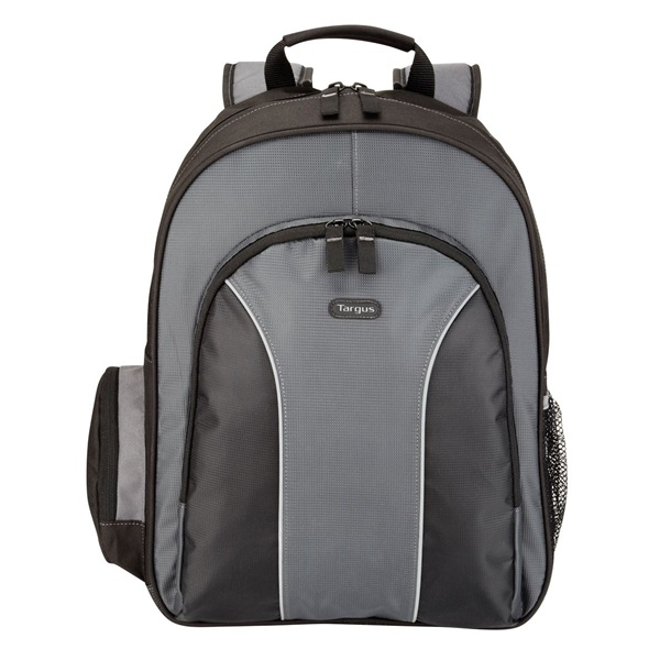 "TARGUS Notebook hátizsák TSB023EU, Essential 15.4-16"" Laptop Backpack - Black/Grey (TSB023EU)"