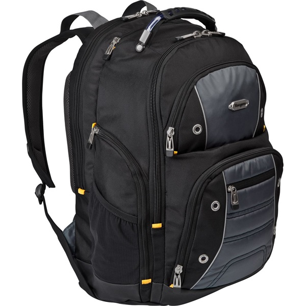 "TARGUS Notebook hátizsák TSB238EU, Drifter™ 15.6"" Backpack - Black/Grey (TSB238EU)"