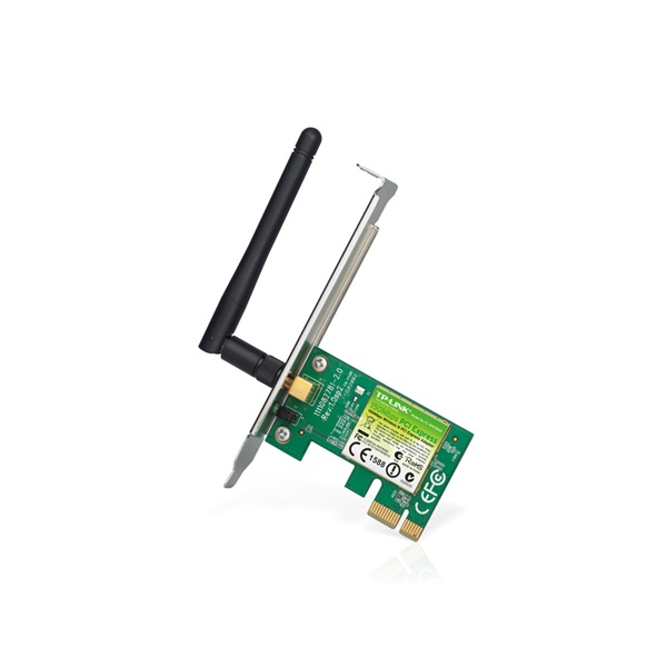TP-LINK Wireless Adapter PCI-Express N-es 150Mbps, TL-WN781ND (TL-WN781ND)